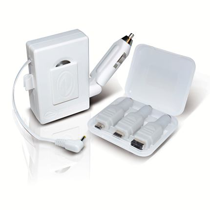 Philips Retractable AC/DC Charger