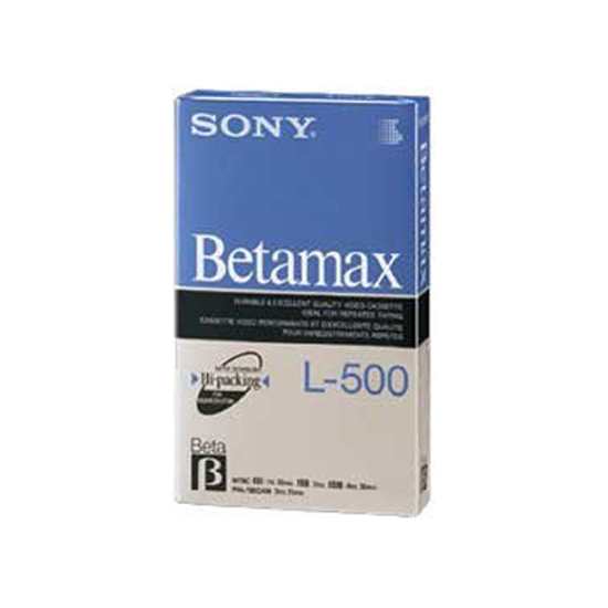 Sony Beta Tape
