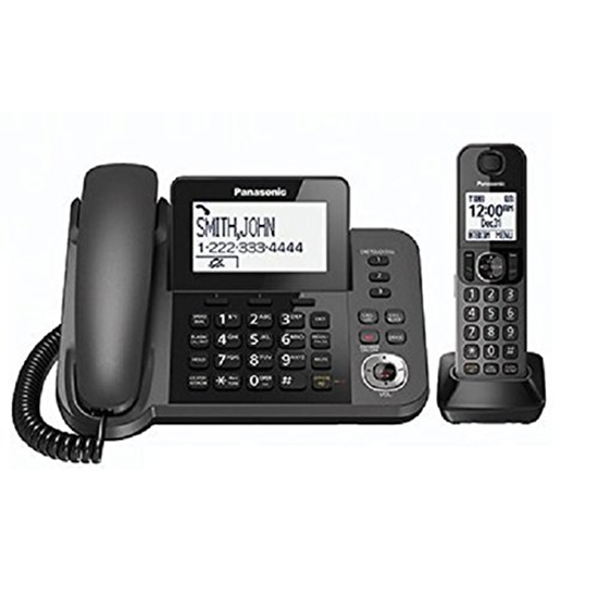 Panasonic KXTGF350M Dect 1-Handset Landline Telephone (Certified Refurbished) KX-TGF