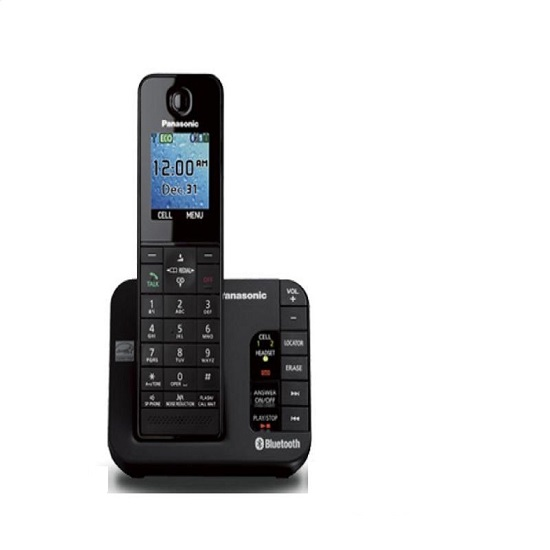 Panasonic KX-TGH260B Link2Cell Bluetooth Enabled Phone w/ Answering Machine,