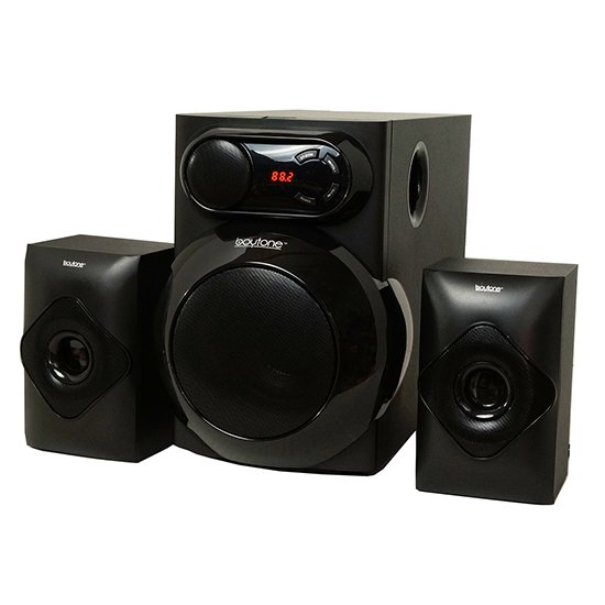 Boytone BT-220F, Wireless Bluetooth 2.1 Multimedia 40 Watt, Powerful Bass System wit
