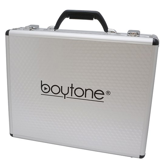 Boytone BT-46UM UHF Digital Channel Wireless Microphone System – Dual Fixed Frequency Wireless