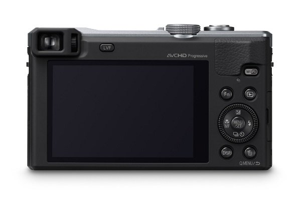 Panasonic DMC-ZS40S Digital Camera with 3.0-Inch LCD (Silver)