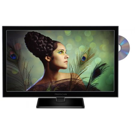 Prosonic 24in color LED TV/ DVD player