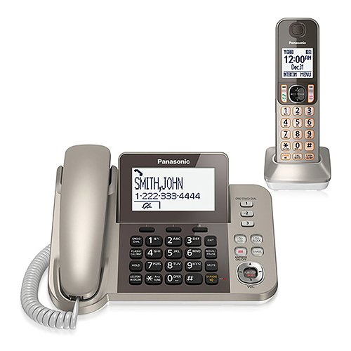 The Panasonic KX-TGF350 is a phone system that consists of a handset with base and a