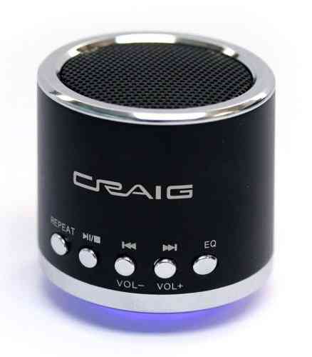 Craig - Black Color - Speaker