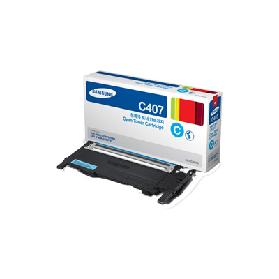 Samsung CLT-C407S Cyan Toner Cartridge for CLP-325W & CLX-3185FW