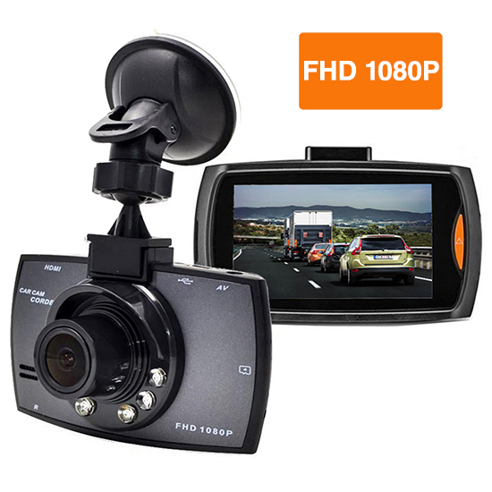 Boytone Dash Cam, with 16GB Micro SD Card Included, Full HD 1080P Monitor Dash Camer