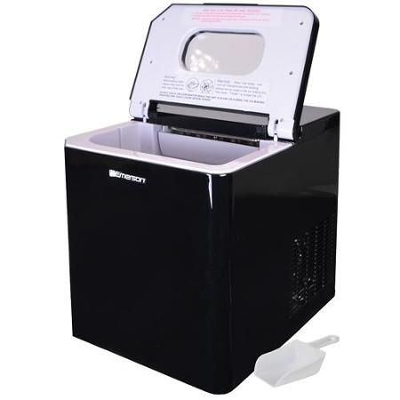 Emerson Portable Countertop 27 lbs Ice Maker Refrigerator with Ice Scoop